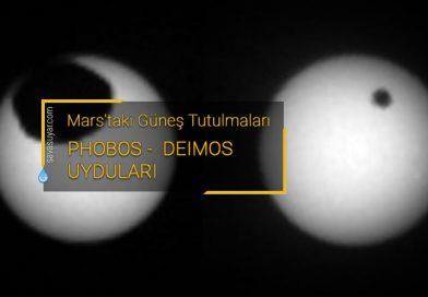 Curiosity Mars aracı iki farklı güneş tutulmasını fotoğrafladı