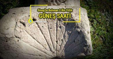 Sinop'ta Bulunan 2 Binlik Yıllık Güneş Saati