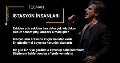 İstasyon İnsanları: Teoman – Şarkı Sözleri – Video Klibi