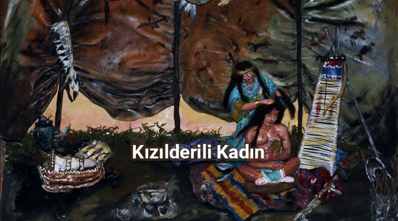 Kızılderili Kadın Rölyefi
