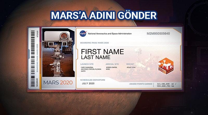 Marsa Adını Gönder